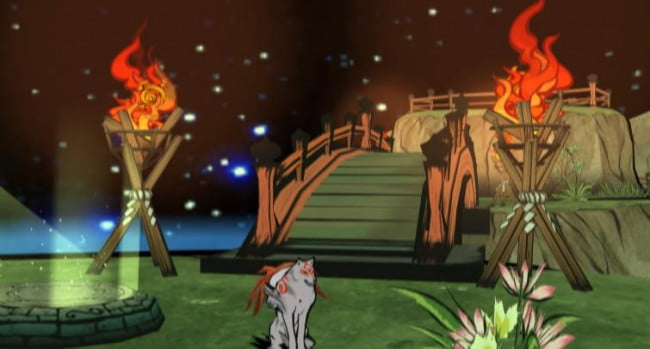 okami screenshot capcom
