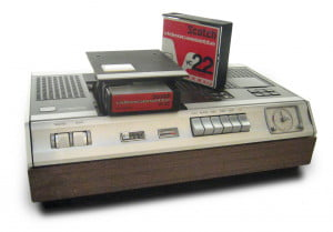 Old-school VCR