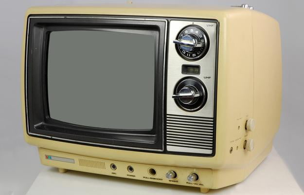 old tube tv
