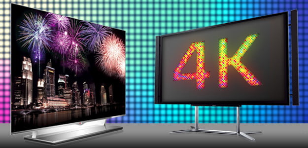 OLED vs 4K tv high definition