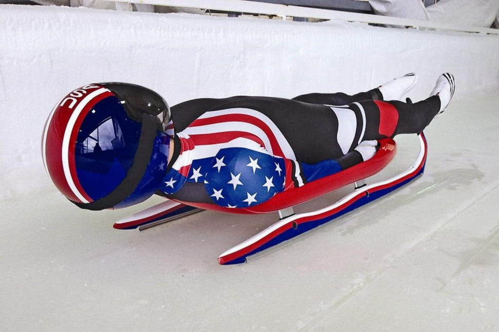 Olympic Luge sled