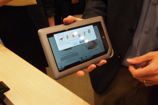 B&N Nook Tablet unveiling - Read and Record kids books