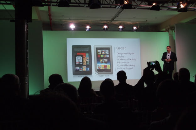 Nook Tablet vs Kindle Fire - Nook Tablet has more RAM