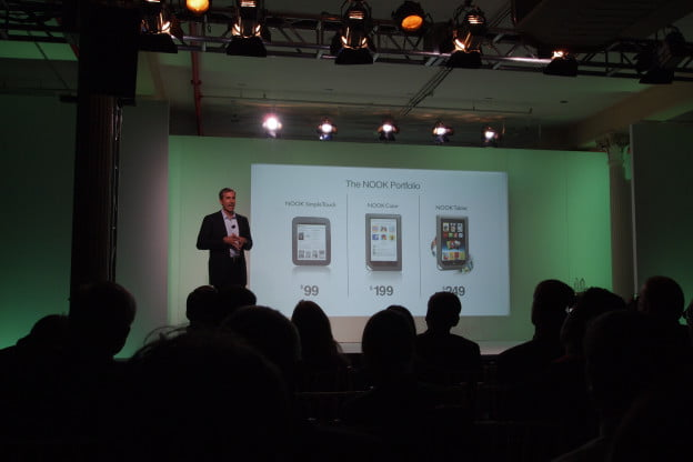 Nook Tablet vs Kindle Fire - Nook lineup