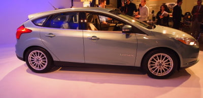 Ford Focus Electric - full profile