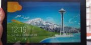 microsoft surface pro  review with windows rt front screen