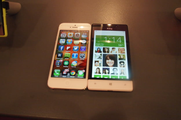 Windows Phone 8 vs iPhone 5
