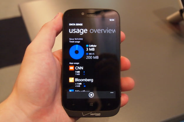 Windows Phone 8 Data Sense