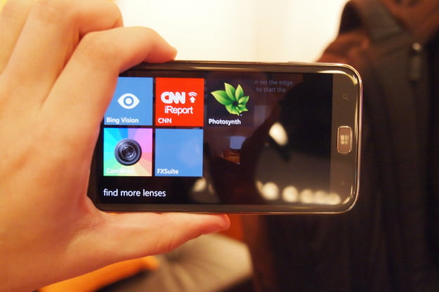Windows Phone 8 camera lenses