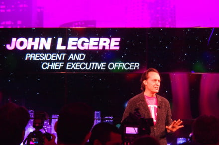 John Legere, CEO of T-Mobile