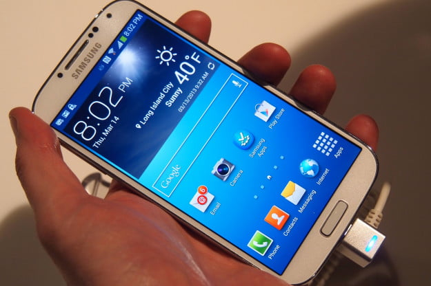Galaxy S4 hands on