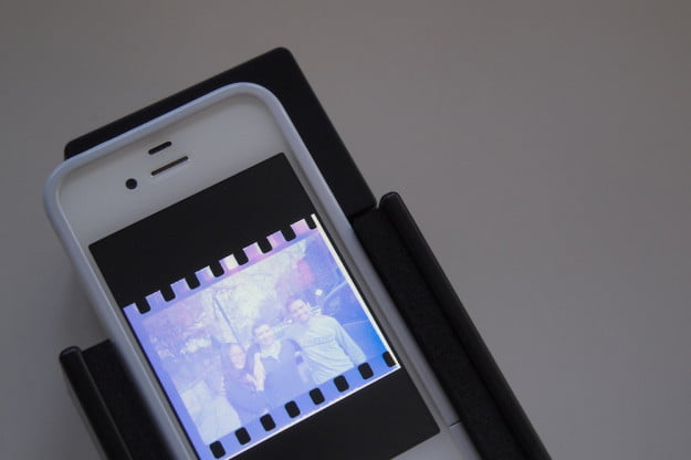 lomography film scanner with iphone 4s