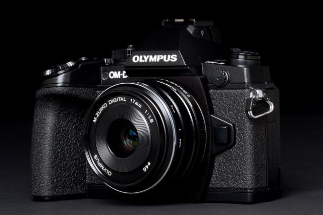new olympus firmware em  ii om d front angle