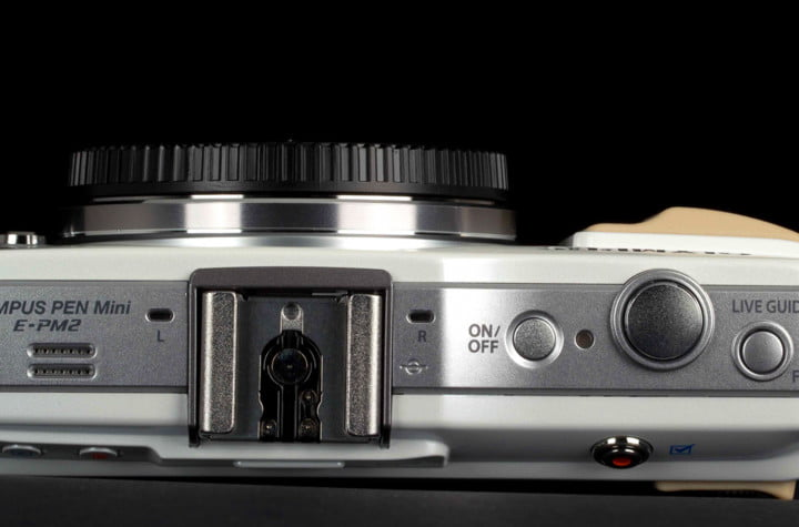 olympus pen e pm  review epm function buttons
