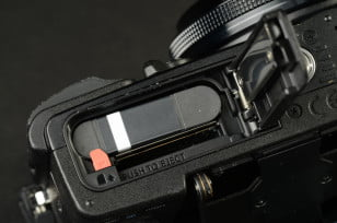 Olympus Stylus XZ 2 iHS Review digital camera battery compartment