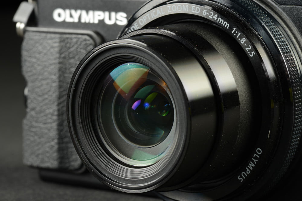 Olympus Stylus XZ 2 iHS Review digital camera lens compact camera