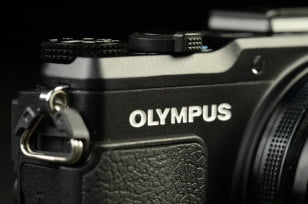Olympus Stylus XZ 2 iHS Review digital camera logo compact camera