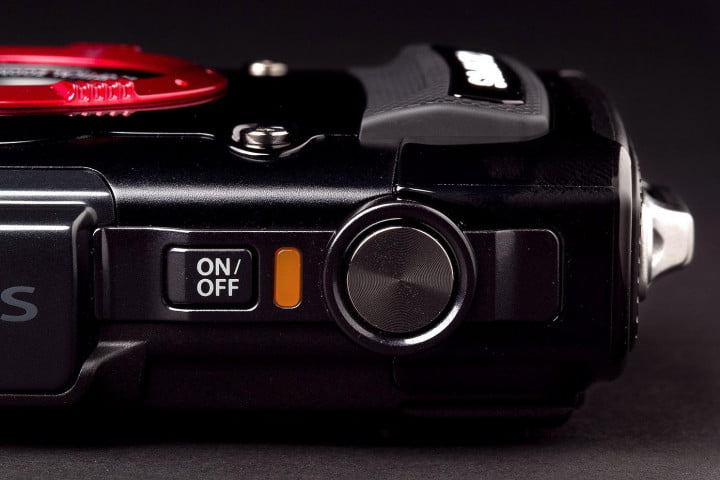 olympus tough tg  ihs review camera top button