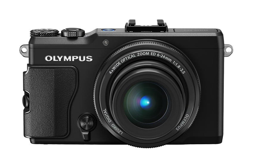 Olympus XZ 2 iHS front compact camera review