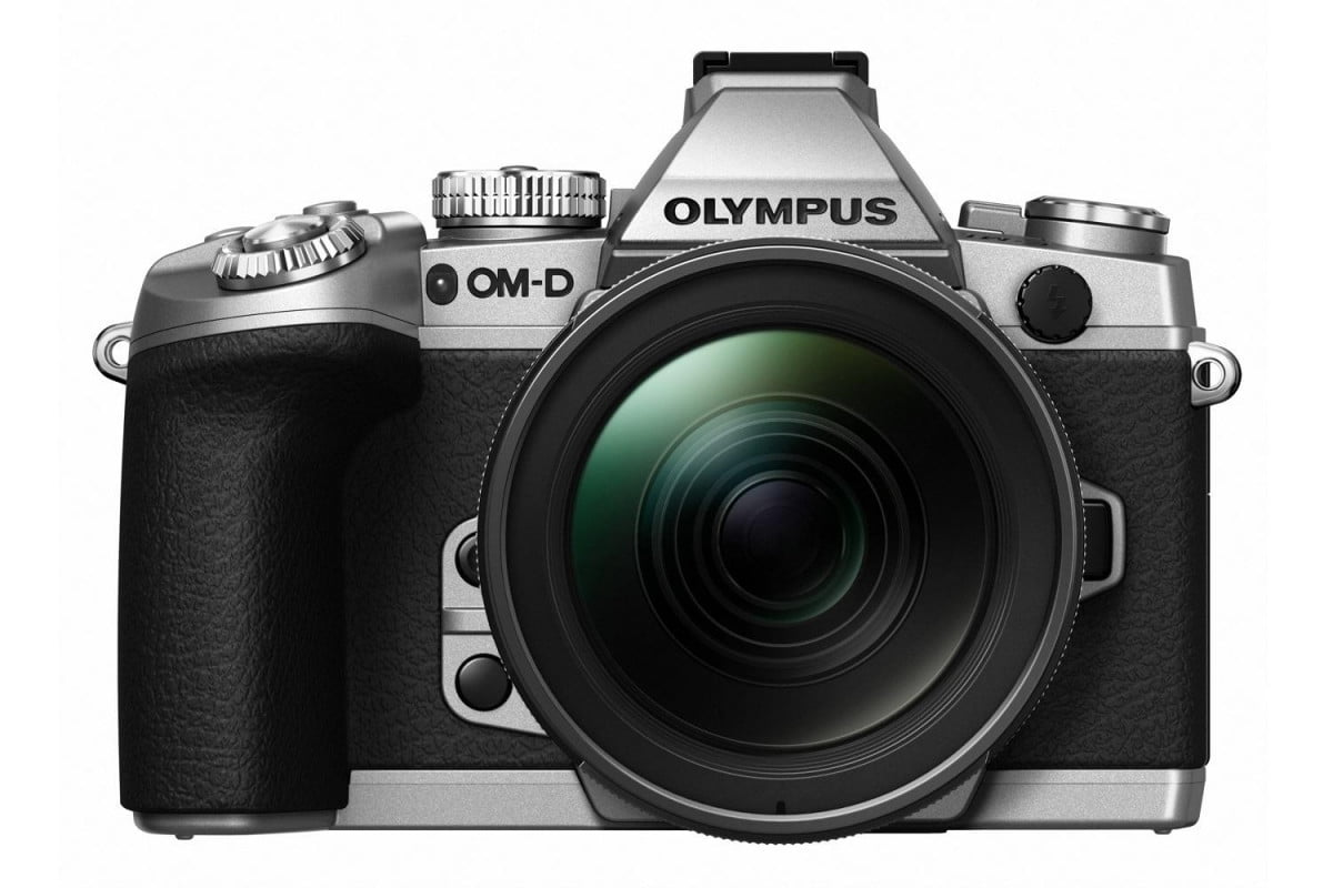 olympus updates e m  micro four thirds camera new firmware color slv front blk