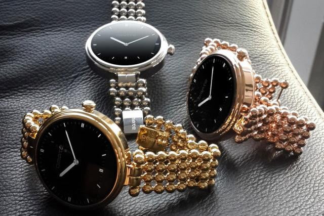 omate lutetia adds womans touch smartwatch craze