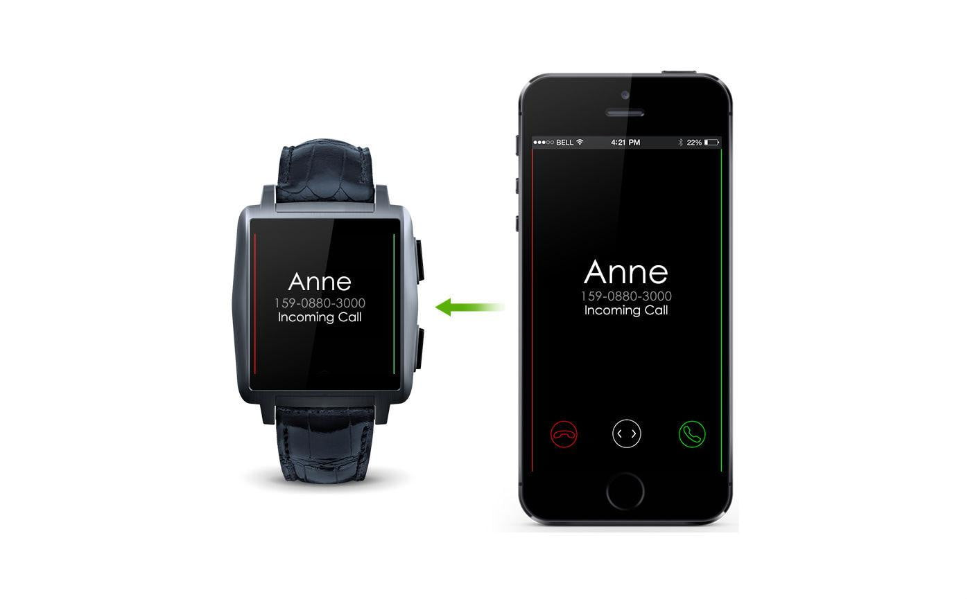 Premium Omate X Smartwatch Works With iOS an Android ...