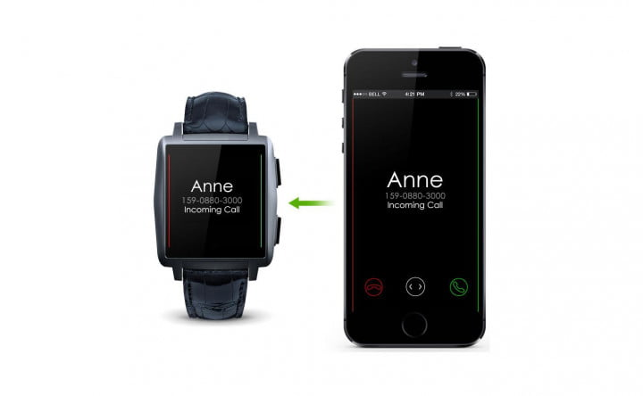 premium omate x smartwatch ios android watch