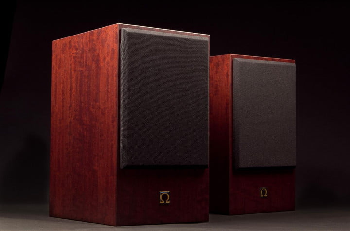 omega speaker systems super  t review front angle