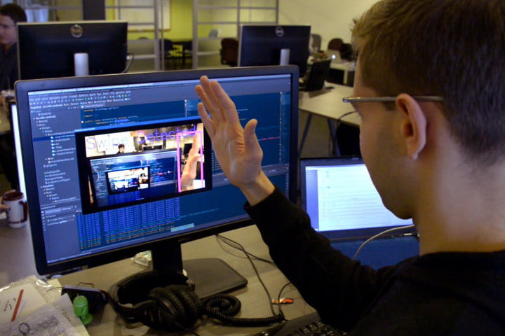 google glass meets kinect ari gesture recognition app smartglasses on the go