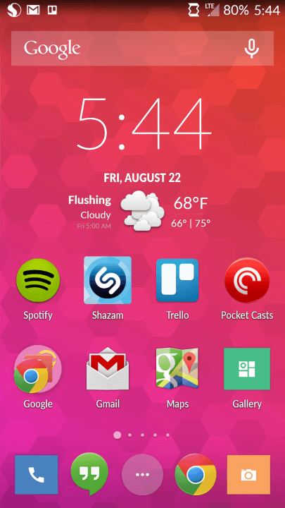 oneplus one review screenshot