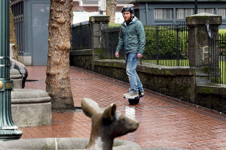 onewheel plus hands on review drew riding
