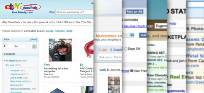 6 craigslist alternatives for online classified ads online classifieds craigslist ebay oodle pronofoot35fo Images
