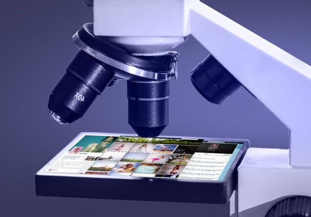 online life under the microscope