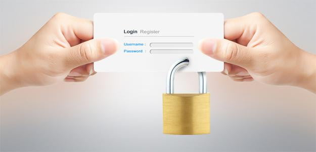 online privacy login