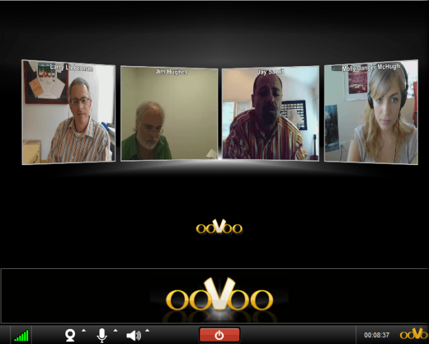 oovoo on desktop