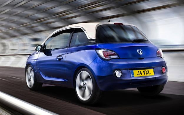 Opel Adam Rear Blue