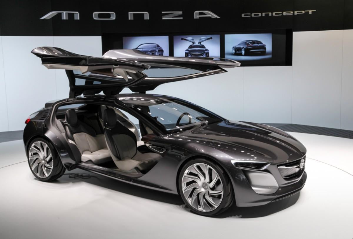 frankfurt  sleek opel monza concept pushes in car connectivity one step further