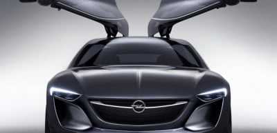 Opel Monza concept front view