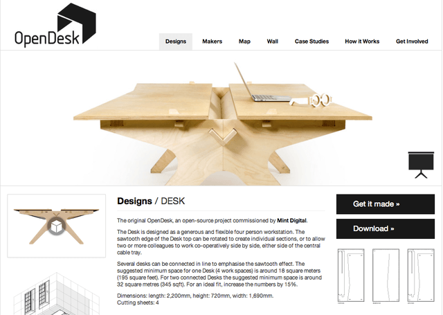 your next end table is just one download away from this open source collection opendesk