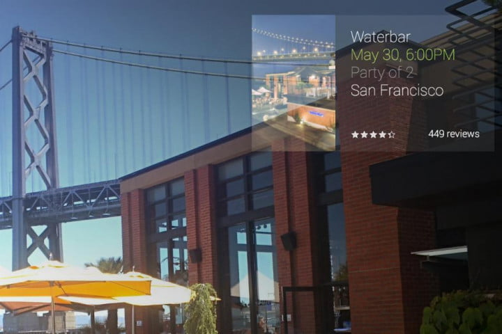 google wants glass adds new travel apps make happen opentable