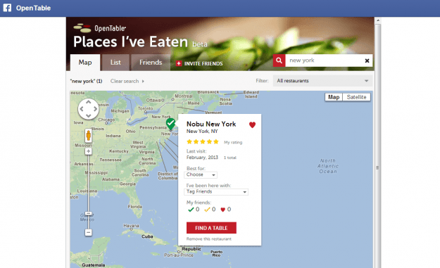 opentable places ive eaten