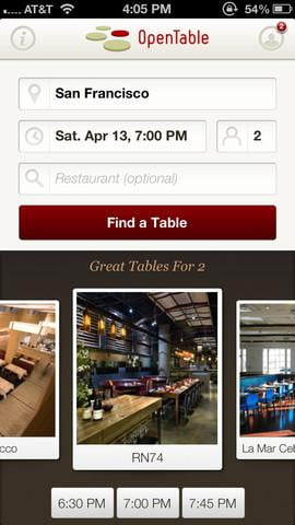 opentable-search
