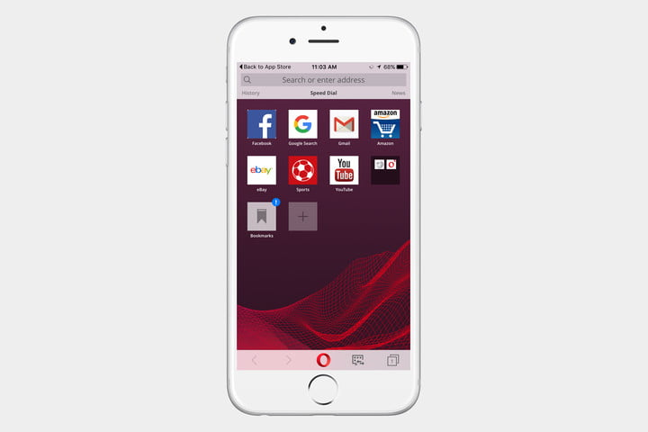 best web browser for iPhone