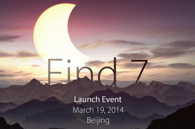 Oppo Find 7 Event