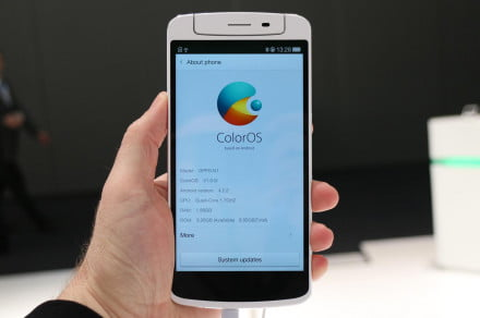 Oppo N1 hands on ColorOS