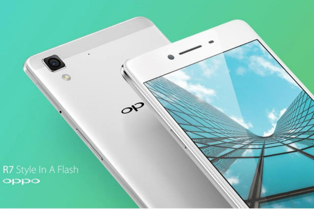 oppo curved bezel free screen phone r  front rear