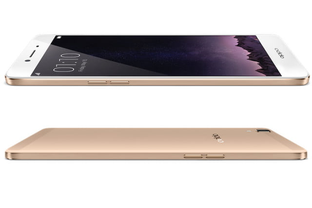Oppo R7S Front Rear