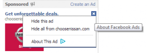fb ads opt out