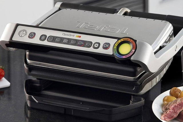 optigrill gets into the indoor grilling ring with less george foreman more british accent header