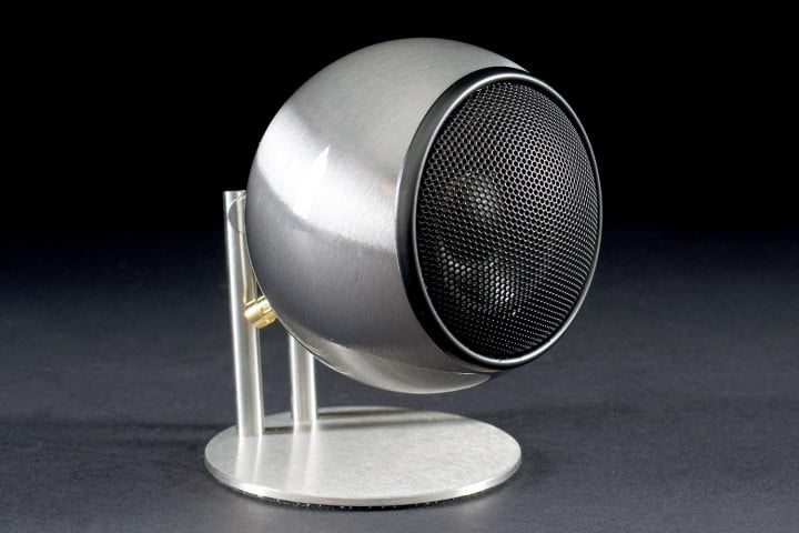 orb audio mod x review mini t  sub speaker front angle
